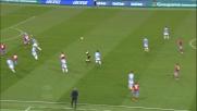 Higuain è implacabile e fortunato: contro la Lazio realizza il goal con l'aiuto di un rimpallo