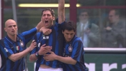 Materazzi supera Capecchi con un colpo di testa e realizza il goal del 2-0