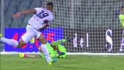 La mano di Festa nega il goal al Genoa