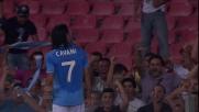 Super goal di Cavani al San Paolo contro il Milan