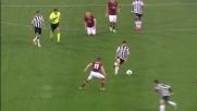 Pinzi segna un goal di mancino a De Sanctis e accorcia le distanze dalla Roma