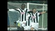 Goal di testa di Zapata che porta l'Udinese in vantaggio sulla Sampdoria