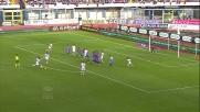 Il goal di Balotelli su punizione porta in vantaggio il Milan contro il Catania