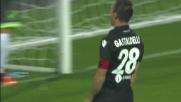 Il tap-in di Gastaldello porta il Bologna in parità nel derby con il Carpi