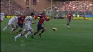 Danilo trattiene Maggio, doppio giallo e Genoa in dieci nel derby