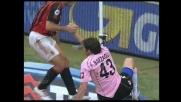 Il recupero di Barzagli nega il goal a Gilardino