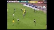 Lucarelli segna il goal  dell'1-1 contro l'Udinese