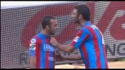 Goal del Catania: rigore efficace di Mascara, Handanovic può solo sfiorare