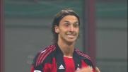 Nel derby di Milano Ibrahimovic sfiora un goal pazzesco con un destro al volo