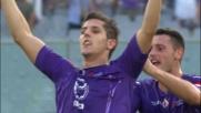 Jovetic pareggia i conti a Firenze con un goal fortunoso