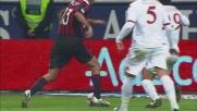 Contro il Milan Burdisso provoca un rigore contestatissimo dalla Roma