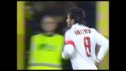 Gattuso segna il goal dell'1-0 per il Milan a Bergamo