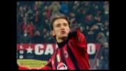 Magia su punizione di Shevchenko, gran goal per il Milan