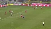 Cassano danza sul pallone contro il Cagliari
