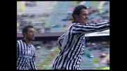 Pepe segna su punizione il goal del vantaggio dell'Udinese sul Palermo