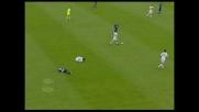 Guarente abbatte Milanetto: doppio giallo ed espulsione