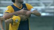 Goal di Nico Lopez e il Verona raggiunge sull'1 a 1 la Fiorentina