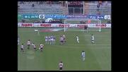 Di Michele prova il tiro a giro: palo contro l'Udinese!