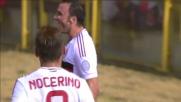 Raddoppio del Milan a Bologna: ancora Pazzini in goal