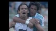 Il goal di testa di Inzaghi vale il 2-2 fra Lazio e Parma