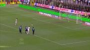 Gilardino realizza il suo secondo goal su rigore in Inter-Genoa