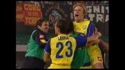 Staffilata di Baronio, il Chievo segna un goal su punizione