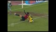 Il goal di Kaladze porta in vantaggio il Milan contro il Chievo