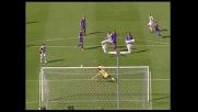 Gran goal di Inler in Udinese-Fiorentina con un bolide di sinistro