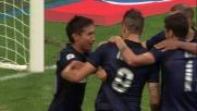 Goal troppo semplice di Nagatomo da zero metri contro il Genoa