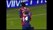 Goal spettacolare di Borriello in mezza rovesciata per il pareggio contro l'Inter