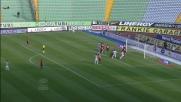 Goal incredibilmente roccambolesco per l'Udinese contro il Novara