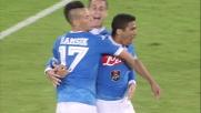 Goal di Allan con un inserimento che non perdona: il Napoli raddoppia