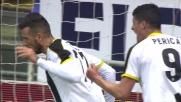 Thereau da zero metri non puo' fallire: l'Udinese pareggia a Genova