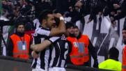 Quagliarella porta in vantaggio la Juventus contro il Genoa