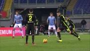 Splendida punizione di Greco che trova il goal contro la Lazio