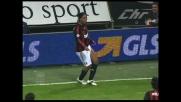 Denis devia in rete la punizione di Ronaldinho: festa Milan