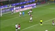 Sirigu atterra Ambrosini in area: calcio di rigore per il Milan