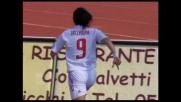 Inzaghi apre le marcature nella gara contro il Livorno