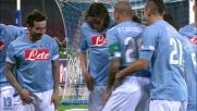 Cavani apre le danze con il goal dell'1-0 del Napoli sul Cagliari