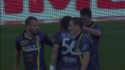 Grande goal di Meggiorini con un sinistro al volo: raddoppio Chievo al Braglia