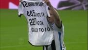 Nell'ultima giornata della stagione 2015-2016 Antonio Di Natale chiude la carriera da capitano e simbolo dell'Udinese