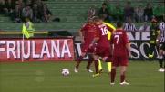 De Rossi lancia in profondità Riise con una rabona