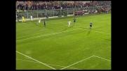 D'Agostino in goal con un tuffo di testa e il Cagliari ribalta la partita a Bergamo