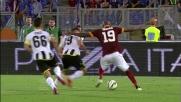 Ibarbo si esibisce in un magico dribbling contro l'Udinese all'Olimpico di Roma