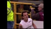 Il goal di Flachi punisce la Juventus. E' 1-1 a Marassi