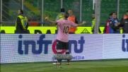 Manita del Palermo alla Lazio con il goal di Miccoli