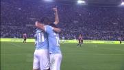 Klose realizza il goal del 3-0 contro il Milan