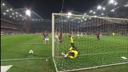 Parata determinante di Buffon sul colpo di testa di Sculli: il Genoa sfiora il goal con la Juventus