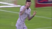 Thereau con un goal di testa porta momentaneamente in vantaggio il Chievo