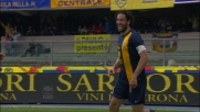 Verona in vantaggio sul Catania grazie al goal di rapina di Toni